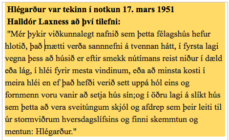 Framtíð Hlégarðs í Mosfellsbæ – Hugleiðingar